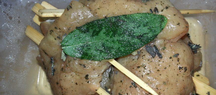 Saltimbocca vom Huhn