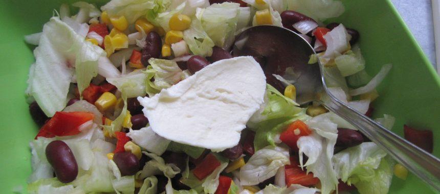 Bunter Grill-Salat