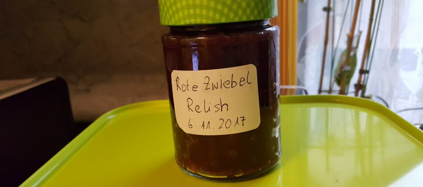 Rote Zwiebel Relish