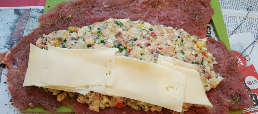 Filet Rollbraten mit Semmelfülle